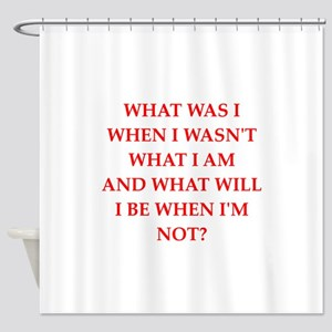 riddle Shower Curtain