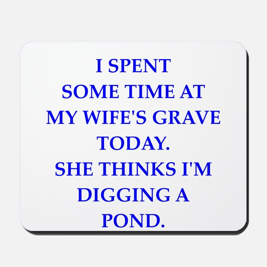 grave Mousepad