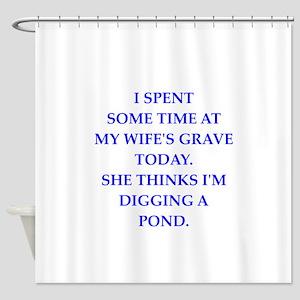 Misfits Die My Darling Shower Curtains