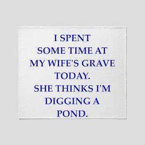grave Throw Blanket