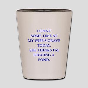 grave Shot Glass
