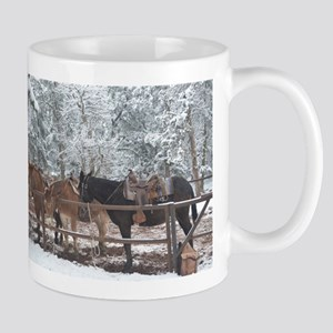 Mule Ride at the Grand Canyon Mugs