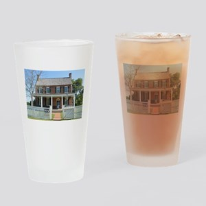 Appomattox Courthouse Historical Si Drinking Glass