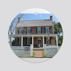 Appomattox Courthouse Historical Si Round Ornament
