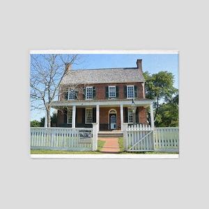 Appomattox Courthouse Historical Si 5'x7'Area Rug