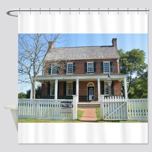 Appomattox Courthouse Historical Si Shower Curtain