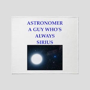 astronomer Throw Blanket