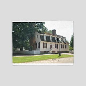 Williamsburg Virginia Historic Styl 5'x7'Area Rug