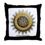 The Kaleidoscope of Color Throw Pillow