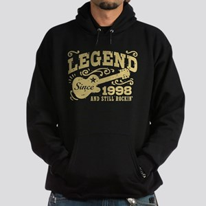 Legend Since 1998 Hoodie (dark)