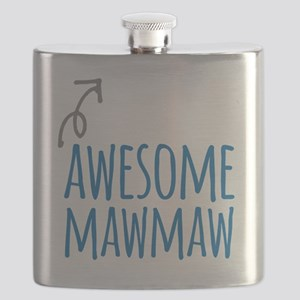 Awesome Mawmaw Flask