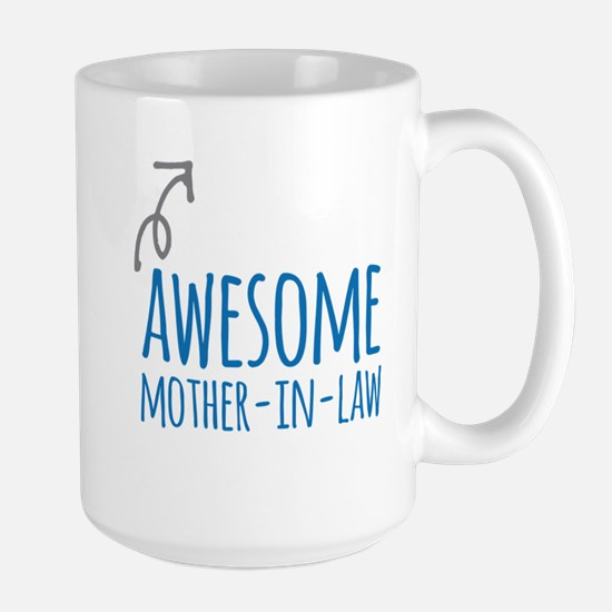 Awesome Mother In Law Mugs