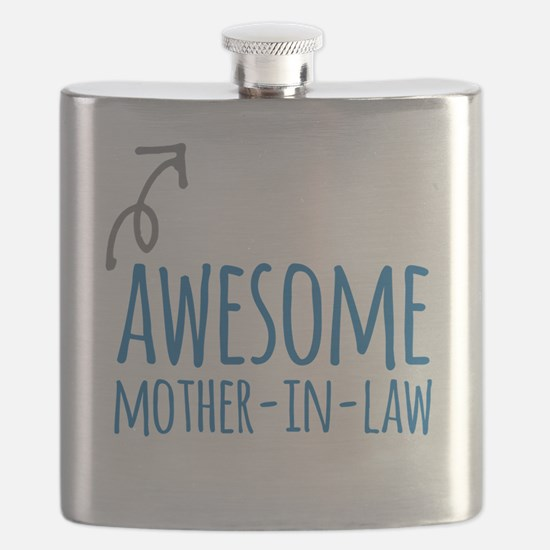 Awesome Mother In Law Flask