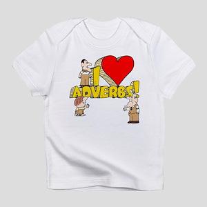 I Heart Adverbs Infant T-Shirt