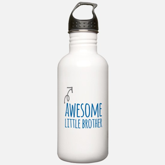 Awesome Little Brother Water Bottle