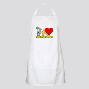 I Heart Conjunctions Apron