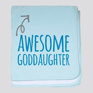 Awesome Goddaughter baby blanket