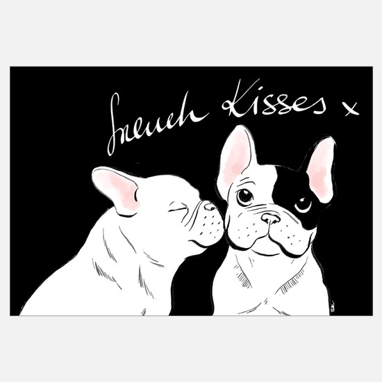 Cute French bulldog Wall Art