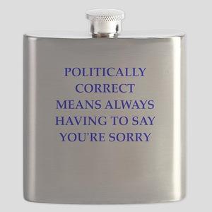 politically correct Flask