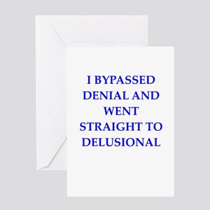 delusion Greeting Cards