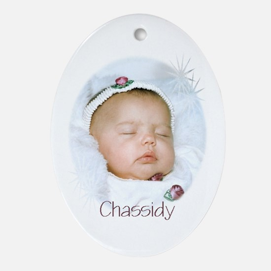 Chassidy Oval Ornament