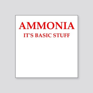 ammonia Sticker