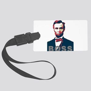 Lincoln Boss Large Luggage Tag