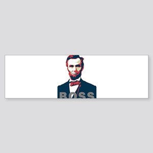 Lincoln Boss Bumper Sticker
