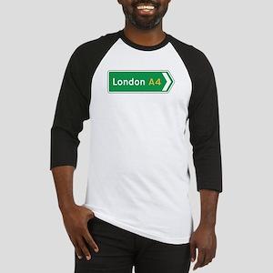 London Roadmarker, UK Baseball Jersey