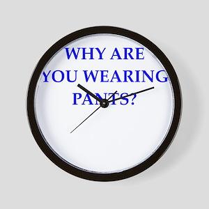 pants Wall Clock