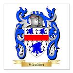 Mouliner Square Car Magnet 3