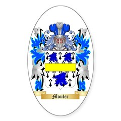 Mouler Sticker (Oval)