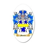 Mouler 35x21 Oval Wall Decal