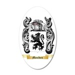Moulden 20x12 Oval Wall Decal