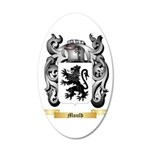 Mould 20x12 Oval Wall Decal