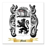 Moul Square Car Magnet 3