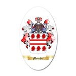 Mouchez 20x12 Oval Wall Decal
