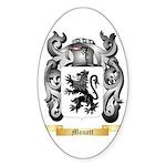 Mouatt Sticker (Oval)