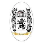 Mouatt Sticker (Oval 10 pk)
