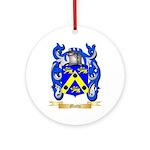 Motto Round Ornament
