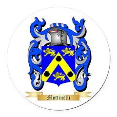 Mottinelli Round Car Magnet