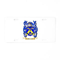 Mottinelli Aluminum License Plate
