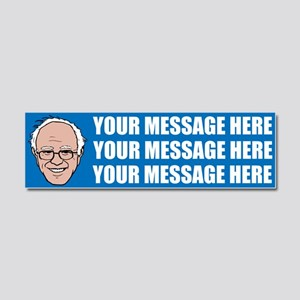 PERSONALIZED Bernie Sanders 2016 Car Magnet 10 x 3