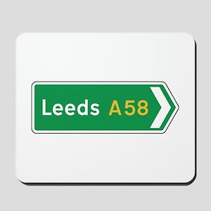 Leeds Roadmarker, UK Mousepad