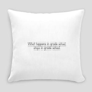 gradeschool Everyday Pillow