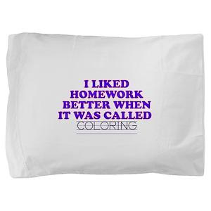 11coloring Pillow Sham