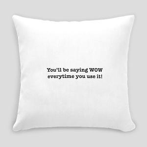 TEXT Everyday Pillow