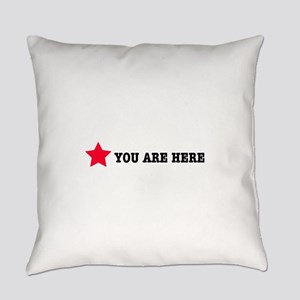 youareleft Everyday Pillow