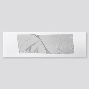 duck tape silver Bumper Sticker