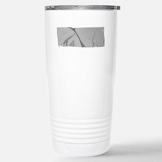 duck tape silver Stainless Steel Travel Mug
